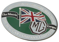 MG Abingdon-on-Thames car grille badge