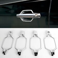 Chrome Door Catch Handle Molding Cover Garnish for HYUNDAI 2001-2006 Terracan