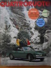 Quattroruote 145 1968 - Test SIMCA 1100 - Porsche automatica - Novità 19   [Q40]