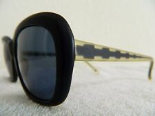 Vintage sunglasess Christian Roth 80's mod 2002 plastic Black 57mm  large big