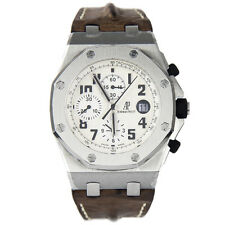 AUDEMARS PIGUET ROYAL OAK OFFSHORE CHRONO WHITE DIAL 26170ST.OO.D091CR.01 NEW