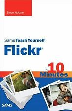 Sams Teach Yourself Flickr in 10 Minutes-ExLibrary