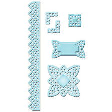 Spellbinders Shapeabilities S5-062 Lace Doily Accents Templates Cut Emboss 6 Die