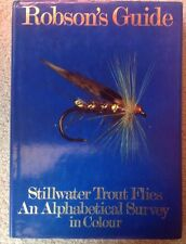 Stillwater Trout Flies An Alphabetical Survey in Colour by Kenneth Robson 1st Ed