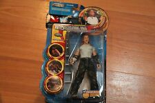 WWE WWF Jakks JEFF HARDY Action Figure Wrestlemania XVII Rebellion FREE SHIPPING