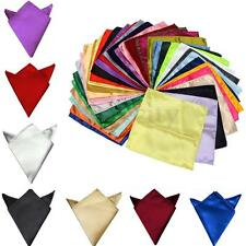 36Packs Fiber Men's Formal Hanky Handkerchiefs Pocket Square Napkin Wedding Ties