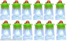 (12-Pack) Refillable Baby Food Pouch great for snacks and Drinks