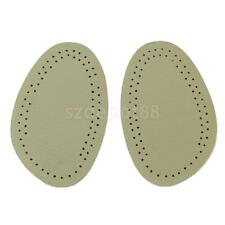 2 Pairs Shoe Cushion Half Insole Front Pads for Women Relieve Feet Fatigue
