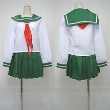 Inuyasha Higurashi Kagome Cosplay Costume Custom Made Any Size(Note Pls)