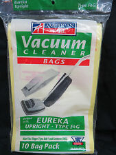 EUREKA F & G, VIP1020, SUB-1 Upright Vacuum Bags NEW (10 Bags Total)