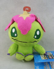 New Digimon Adventure Palmon Beanie Plush Toy Doll Key Chain