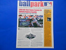 BALLPARK - The Official International Newsletter of MAJOR LEAGUE BASEBALL