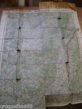 Années 1930 Cartes routière TARIDE papier simili japon N° 25 ALSACE LORRAINE