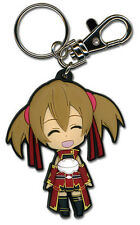 Sword Art Online Silica Smiling Key Chain Anime Licensed NEW