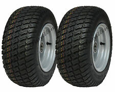 2 - 16x6.50-8 Grass tyres on wheel rim - lawnmower- cart buggy- quad ATV trailer