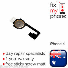 iPhone 4 4G Home Button Flex Cable Ribbon Repair Replacement New A1332