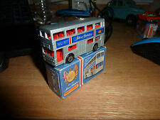 Matchbox Silver Jubilee Souvenir Bus. MINT BOXED