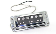 FrankenTone Chester Pickup - DeArmond mount Alnico Single Coil Bridge - Black