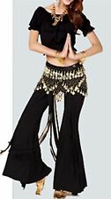 Belly Dance Choli Top Training Short Sleeve Shirts Top Costumes Dancing Wear UK