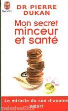 """Livre Nutrition """" Mon Secret Minceur et Santé  Dr P. Dukan """" ( No 1538 ) Book"""