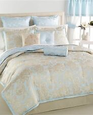 Martha Stewart Collection Madeleine Rose 22-Pc Queen  Comforter Set Blue