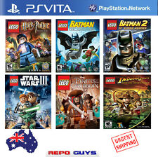Sony PS VITA Voucher Code PSvita Playstation Lego Mega pack : 6 Games in 1