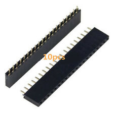 10Stk Single Row 20pin 1*20pin Female Socket Connector 2.54mm Pitch