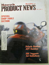 Motorcycle Product News, Nov 1988, Polaris Notches ATV Decision,   Blue box 2