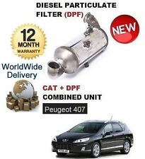 FOR PEUGEOT 407 1.6HDI 2004-  DIESEL PARTICULATE DPF & CAT CATALYTIC FILTER KIT