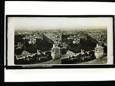 Stereo Glass Dispositive Panoramic General view of Grenade Spain  C1860