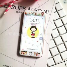 "Tempered Glass Film Cartoon Screen Protector Cover For iPhone 7 Plus ( 5.5"") UK"