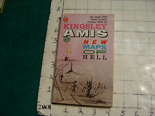 UNREAD 1st ed. BALLANTINE paperback: NEW MAPS OF HELL kingsley amis 1961