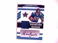 Marcedes Lewis 2006 Rookies & Stars Auto /449 Material Jersey Autograph FREESHIP