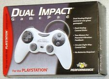 PS One Original Play Station Dual Impact Game Pad Controller New!