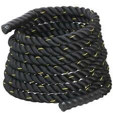 """1.5"""" Poly Dacron 40 ft Strength Training Rope Exercise Workout Battle Ropes New"""