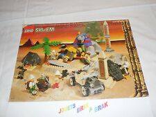 Lego system 1 notice egypte  book instruction manuel pour set 5978