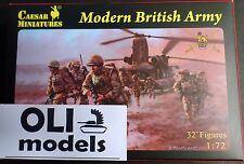 1/72 Modern British Army FIGURES SET - Caesar Miniatures 60