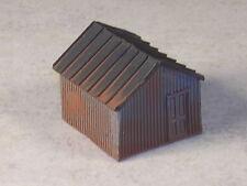 N Scale Custom Assembled Logging Camp Storage Shed, Version #3