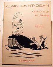 ST OGAN/DESSINS DE PRESSE POUR LE PARISIEN/ED SERG/1974/ZIG ET PUCE