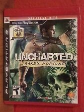 Uncharted: Drake's Fortune (Sony PlayStation 3, 2007) `NEW`