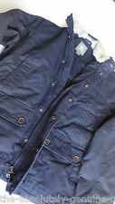 TIMBERLAND Navy BLUE Padded Jacket with FUR Collar Size XXL BNWT