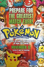 POKEMON THE FIRST MOVIE - MOVIE PROMO ADVERTISEMENT (ANIME)