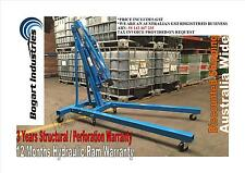Engine Hoist Lifter, Folding Mobile Shop Crane, 2 Ton Quality *1
