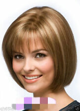 FIXSF512 new style short straight blonde mixed straight Hair wig Wigs for women