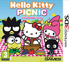 Hello Kitty Picnic (with SANRIO friends) Nintendo 3DS IT IMPORT 505 GAMES
