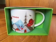 STARBUCKS CANADA VERSION 2 YOU ARE HERE 14 oz MUG - NIB / NWT