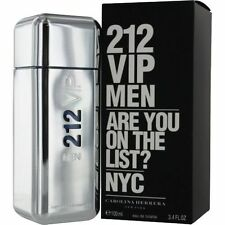 212 VIP by Carolina Herrera * Cologne for Men * 3.4 oz * BRAND NEW IN BOX