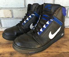 Nike Air Force II 2 High Sneakers OG Black Blue Magic Men's Sz 12.5 2003