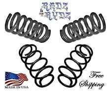 "1963-1972 Chevy GMC C10 C15 C1500 3""-4"" Drop Coils Lowering Springs Lowering Kit"