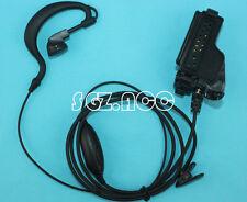 Clip Ear Headset Earpiece Mic fr MOTOROLA HT1000 MTS2000 XTS3500 XTS2500 XTS3000